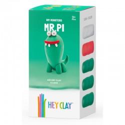 HEY CLAY Masa Plastyczna ZESTAW POTWORY MR. PI 40341