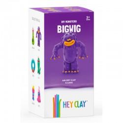 HEY CLAY Masa Plastyczna ZESTAW POTWORY BIGWIG 40365