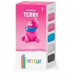 HEY CLAY Masa Plastyczna ZESTAW POTWORY TERRY 40327