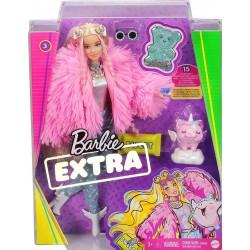 MATTEL Lalka Barbie Extra + Akcesoria GRN28