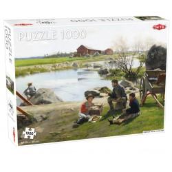 Tactic Puzzle Układanka A REST ON THE WAY TO THE FAIR Krajobraz 1000 el. 56244