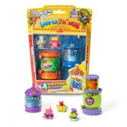 Magic Box Toys Super Zings Super Things ZESTAW 4 FIGURKI + KRYJÓWKA 13335