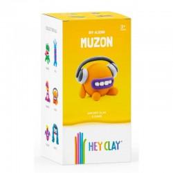 HEY CLAY Masa Plastyczna ZESTAW OBCY MUZON 40266