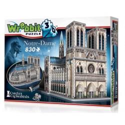 WREBBIT Puzzle 3D Katedra Notre-Dame 830 Elementów 02020