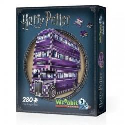 WREBBIT Puzzle 3D Harry Potter The Knight Bus BŁĘDNY RYCERZ 00507