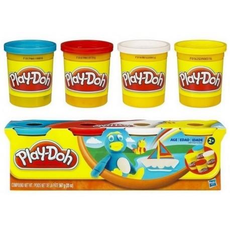 Ciastolina Play-Doh - 22114 - 4 Tuby - Kaczuszka