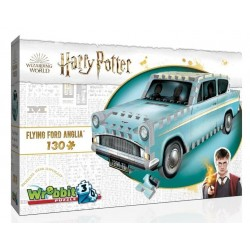 WREBBIT Puzzle 3D Harry Potter Flying Ford Anglia LATAJĄCY FORD ANGLIA 00202