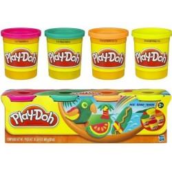 Ciastolina Play-Doh - 2214 - 4 Tuby - Ptaszek