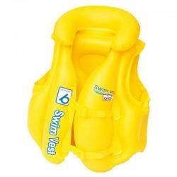 Bestway - 32034 - Kamizelka do Pływania - Swim Safe - Żółta - 51 cm x 46 cm - Rozm.B