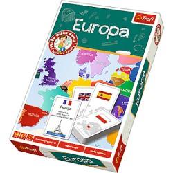 Trefl - 01270 - Mały Odkrywca Idzie do Szkoły - Gra Edukacyjna - Europa
