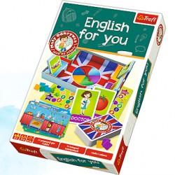 Trefl - 01272 - Mały Odkrywca Idzie do Szkoły - Gra Edukacyjna - English For You