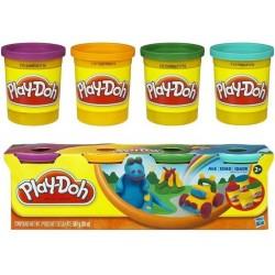 Ciastolina Play-Doh - 22114 - 4 Tuby - Dinuś