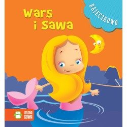 Zielona Sowa BAJECZKOWO Książeczki dla Dzieci Książeczka z Bajkami WARS I SAWA 6581