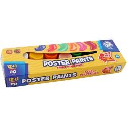 ASTRA - 87481 - Farby PLAKATOWE - 13 Kolorów