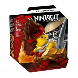 LEGO NINJAGO 71730 Epicki Zestaw Bojowy KAI KONTRA SZKIELET