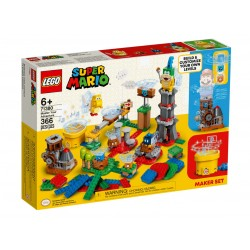 LEGO SUPER MARIO 71380 Mistrzowskie Przygody Zestaw Twórcy ZESTAW UZUPEŁNIAJĄCY
