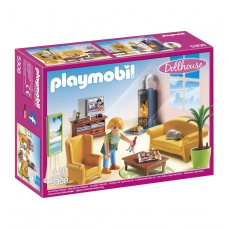 Playmobil 5308 dollhouse romantyczny domek dla lalek - Playmobil wohnzimmer 5332 ...