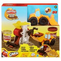 Ciastolina Play-Doh - 49430 - Fabryka Cegieł - Ładowarka Phillip