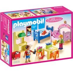 PLAYMOBIL 5306 DOLLHOUSE Romantyczny Domek dla Lalek - Kolorowy Pokój dla Dzieci