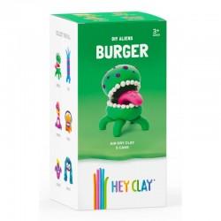 HEY CLAY Masa Plastyczna ZESTAW OBCY BURGER 40273