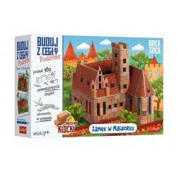 TREFL Brick Trick Buduj z Cegły Podróże ZAMEK W MALBORKU 61384
