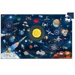 DJECO Puzzle Obserwacyjne 200 Elementów KOSMOS 07413