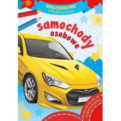Skrzat Książeczki dla Dzieci Kolorowanka MALUSZKOWE MALOWANIE Samochody Osobowe 8362