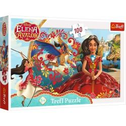 TREFL Układanka Puzzle 100 Elementów Elena z Avaloru MAGIA AVALORU 16321