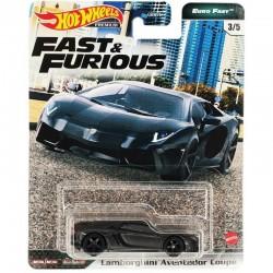 HOT WHEELS Fast&Furious LAMBORGHINI AVENTADOR COUPE GXV65