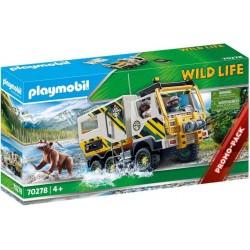 PLAYMOBIL Wild Life 70278 Pojazd na Wyprawy Badawcze