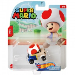 HOT WHEELS Super Mario TOAD GPC12