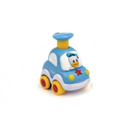 CLEMENTONI BABY Autko Press And Go DONALD 14392