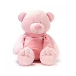 Teddykompaniet - 05093 - Maskotka Pluszowa - Miś Różowy - 61 cm