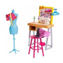 MATTEL FJB25 FXP10 - Barbie Zestaw - PRACOWNIA KRAWIECKA
