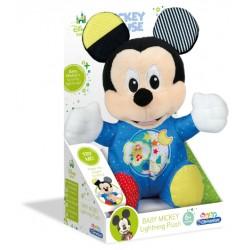 CLEMENTONI BABY Myszka Miki Świecący Pluszak 17206