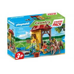 PLAYMOBIL Country 70501 Starter Pack STADNINA KONI