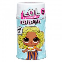 L.O.L SURPRISE Hairgoals Seria 2 Laleczka z Włosami do Czesania 572664
