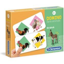 CLEMENTONI Gra Domino ZWIERZĘTA NA FARMIE 18069