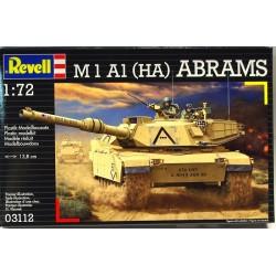 Revell - 03112 - Model do Sklejania - Skala 1:72 - Czołg Amerykański - M1 A1 (HA) ABRAMS