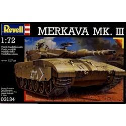Revell - 03134 - Model do Sklejania - Skala 1:72 - Czołg Izraelski - MERKAVA MK.III