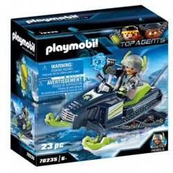 PLAYMOBIL Top Agents 70235 Arktyczni Rebelianci Skuter