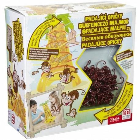 Mattel - 52563 - Gra - Spadające Małpki