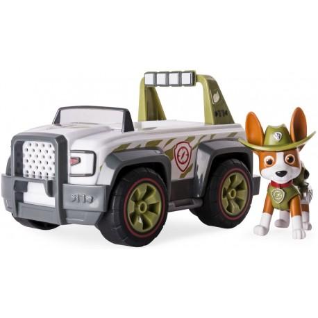 SPIN MASTER Psi Patrol Pojazd z Figurką TRACKER Jungle Cruiser 4642