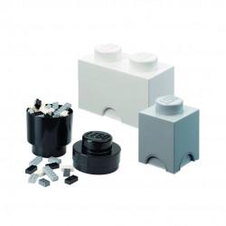 LEGO Pojemniki na Zabawki MULTI-PACK M Zestaw Trzech Pojemników 4591