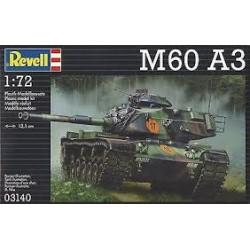 Revell - 03140 - Model do Sklejania - Skala 1:72 - Czołg Amerykański - M60 A3