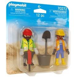 PLAYMOBIL Duo Pack 70272 ROBOTNICY BUDOWLANI