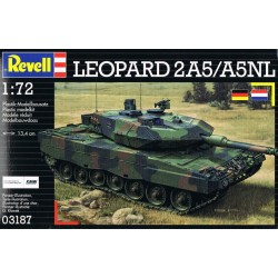 Revell - 03180 - Model do Sklejania - Skala 1:72 - Czołg Niemiecki - LEOPARD 2A6 / A6M