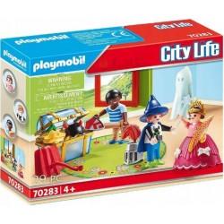 PLAYMOBIL City Life 70283 DZIECI ZE SKRZYNIĄ Z KOSTIUMAMI