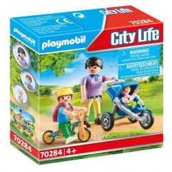 PLAYMOBIL City Life 70284 MAMA Z DZIEĆMI