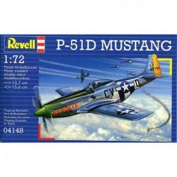Revell - 04148 - Model do Sklejania - Skala 1:72 - Samolot Amerykański - MUSTANG P-51D